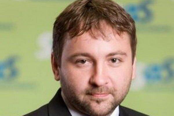 Michal Uherčík, regionálny predseda SaS v Turci.