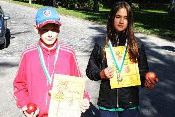 Víťazi Róbert Korpa a Laura Lukáčová.