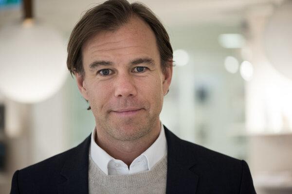 Generálny riaditeľ švédskeho odevného obchodu Karl-Johan Persson.