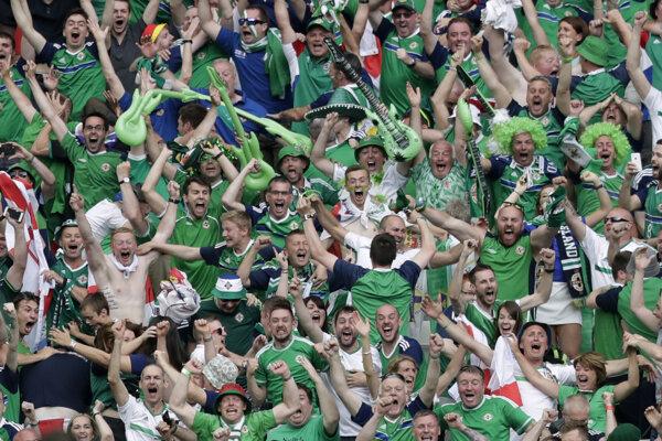 Na európskom šampionáte patrili fanúšikovia Severného Írska k najlepším a najhlučnejším.