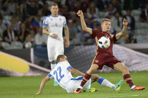 Pečovský (ne zemi) odohral skvelý zápas proti Rusku.