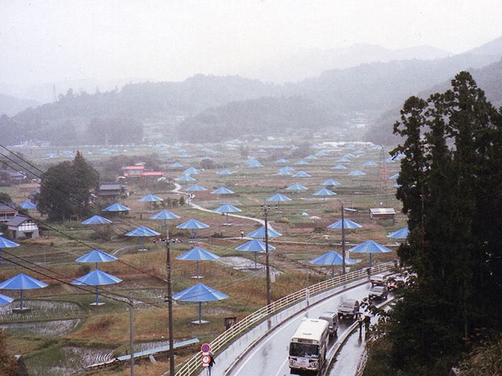 Projekt Umbrella (1981 Japonsko/USA), Christo und Jeanne-Claude