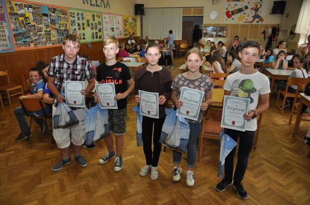 Žiaci ZŠ Pavla Dobšinského z Rimavskej Soboty získali striebornú priečku.