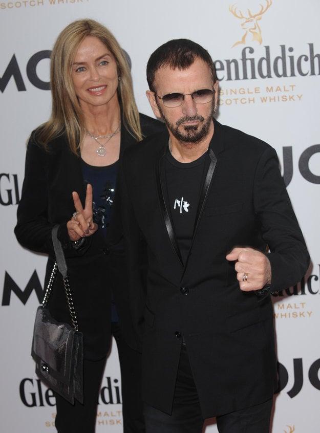 Barbara Bach s manželom Ringom Starrom
