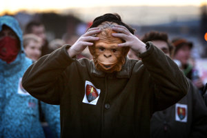 Kauza Gorila vytiahla ľudí do ulíc v roku 2012.