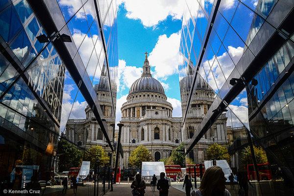 Londýnska katedrála sv. Pavla je jedným z turistických magnetov Veľkej Británie.