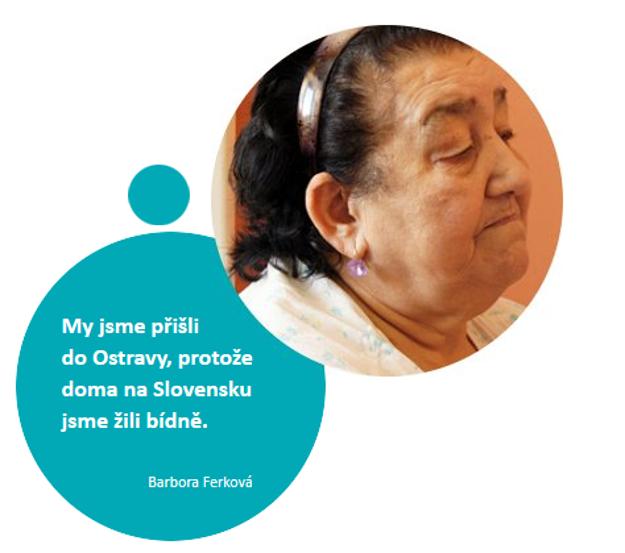 Pochádzala z okresu Rožňava. Mama živila rodinu výrobou košíkov a rohoží z kukuričného šúpolia, chodila predávať zemiaky a fazule. Pani Ferková pracovala ako upratovačka v nemocnici.