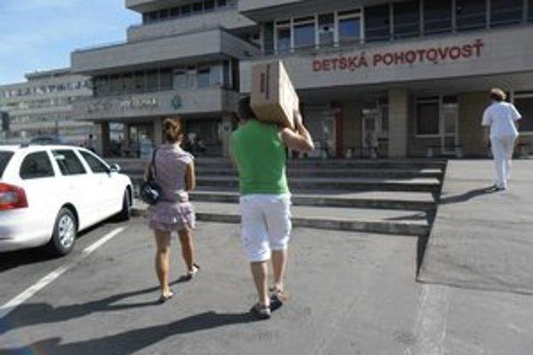 Pomoc smerovala do bratislavskej nemocnice.