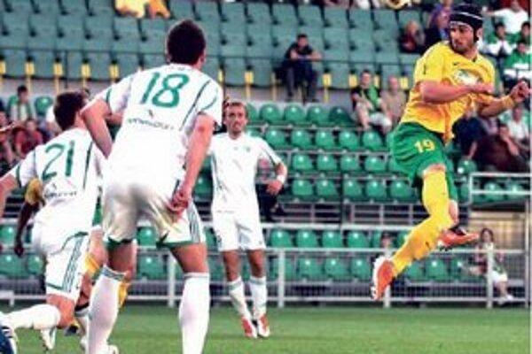 Dominik Fótyik (19) V drese Žiliny.