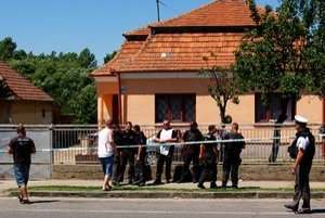 Dom, v ktorého dvore sa stala tragédia.