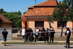 Dom, v ktorom sa odohrala nedávna tragédia.