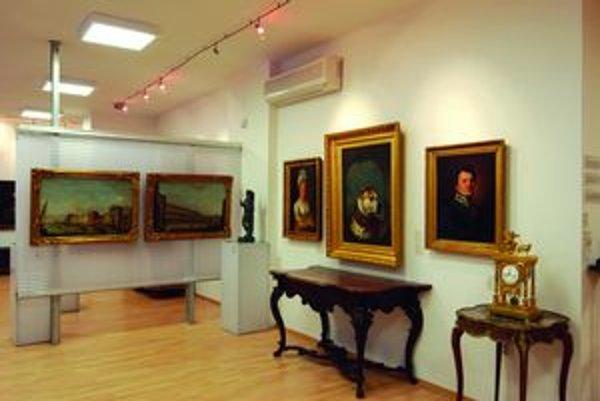 Z expozície Galérie umenia Ernesta Zmetáka.