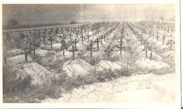 Pôvodný cintorín.