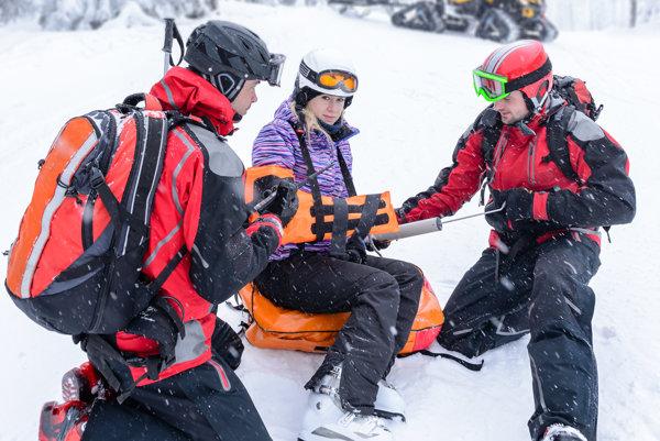 Bez poistenia môže každé zranenie v horách ohroziť rodinný rozpočet.
