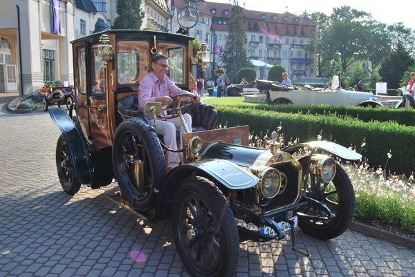 Lorraine-Dietrich. František Kudela prišiel na aute z roku 1907.