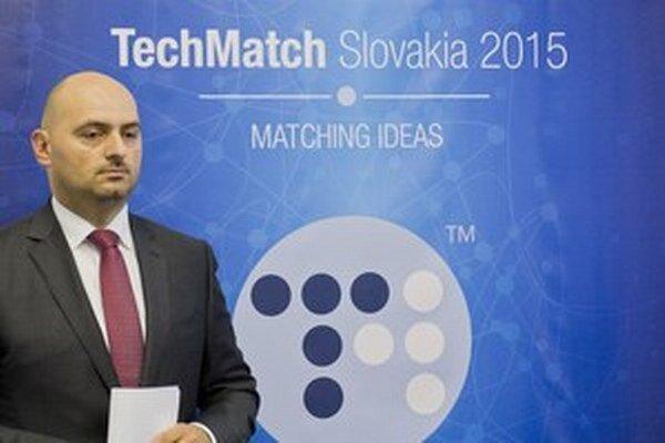 Riaditeľ Slovak Business Agency Branislav Šafárik.