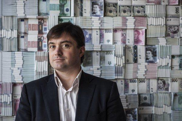 Podnikateľ Igor Rattaj.