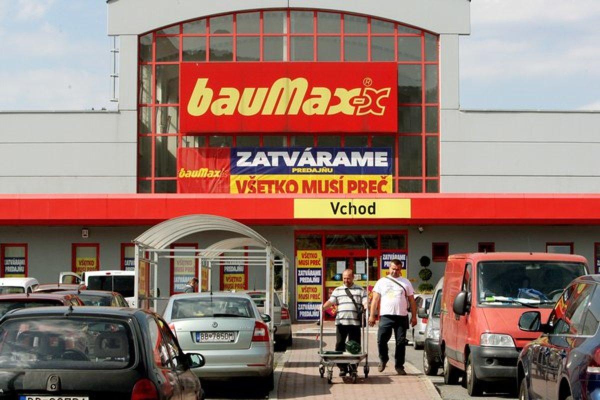 Baumax predáva tovar e2b96694eb7