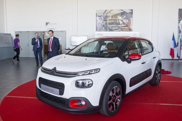 Peugeot ukázal nový model Citroën C3, ktorý bude vyrábať v Trnave.