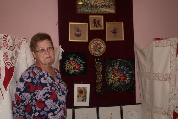 Darina Sopóciová obľubuje ručné práce.