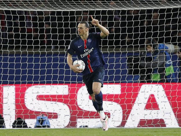 Naposledy strieľal góly za parížsky St. Germain. Ibrahimovič smeruje do Anglicka