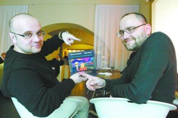 Dado Nagy (vľavo) a Peter Krištúfek.
