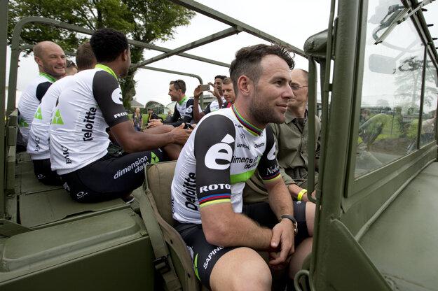 Na Tour de France sa Mark Cavendish predstaví v drese tímu Dimension Data.
