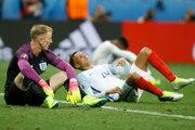 Futbalisti Anglicka na majstrovstvách Európy sklamali.