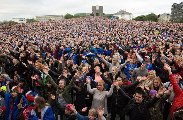 Futbalisti Islandu pobláznili celý národ.