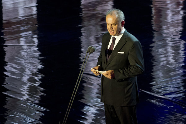Na snímke prezident SR Andrej Kiska počas koncertu.