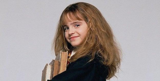 Desaťročná Emma Watson. Celá kariéra je ešte len pred ňou.