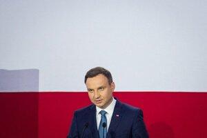 Víťaz prezidentských volieb v Poľsku Andrzej Duda.