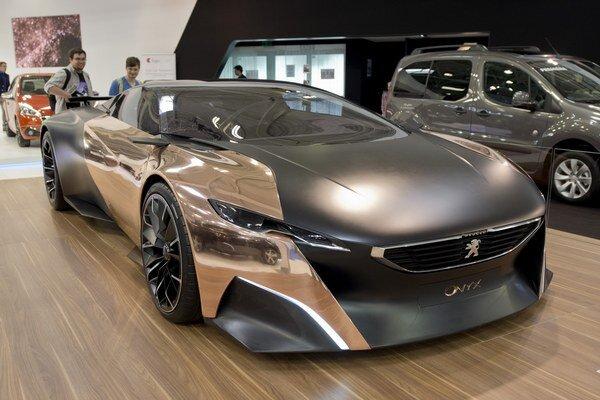 Peugeot - Onyx na 25. bratislavskom Autosalóne.