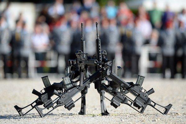 Pušky G36 z dielne Heckler&Koch.