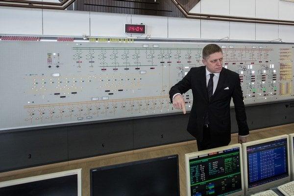 Premiér Fico v Gabčíkove.