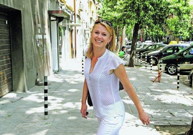 Monika Šlosáriková. FOTO - SME JÁN KROŠLÁK
