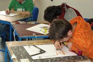Na Spojenej škole v Nižnej deviataci tento utorok robili talentové prijímacie skúšky na odbor propagačná grafika. Ak by im talentovky nevyšli, môžu si podať ďalšie dve prihlášky na iné stredné školy.
