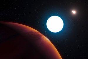 Exoplanéta HD 131399Ab je prvým úlovkom zariadenia SPHERE.