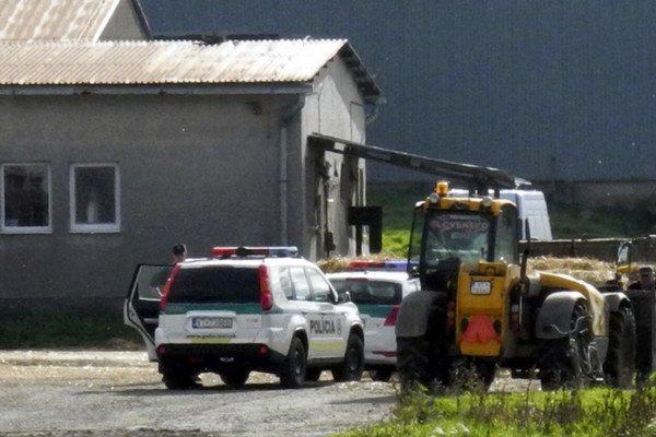 Tragédia sa stala v areáli poľnohospodárskeho družstva.