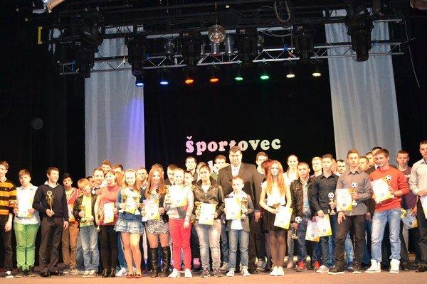 Ocenení. Najúspešnejší športovci Vranova za rok 2013.