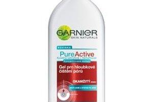 Boj proti aknéGarnier Pure Active - čistiaci krém na uvoľnenie pórov, zabraňuje tvorbe akné a jaziev po ňom