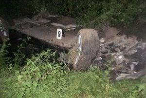 Šofér bol opitý.