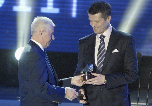 Vojtech Christov (vľavo) patrí na Slovensku k uznávaným osobnostiam.