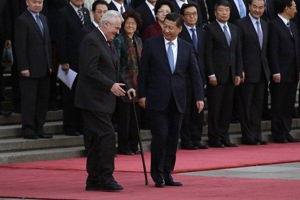 Zemanovi sa v Číne páčilo, vráti sa tam.