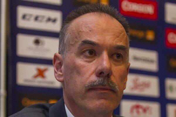 Staronový prezident Slovenského zväzu ľadového hokeja Igor Nemeček.