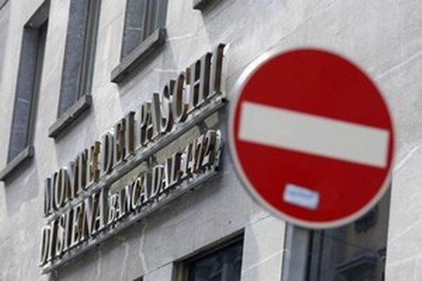 Talianska banka Monte dei Paschi dopadla v nedávnych záťažových testoch najväčších európskych bánk najhoršie.