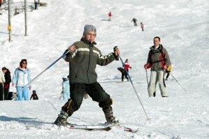 V Tatrách sa lyžujú aj turisti z Ruska a Ukrajiny.  Strávia tu viac nocí než lyžiari odinakiaľ.