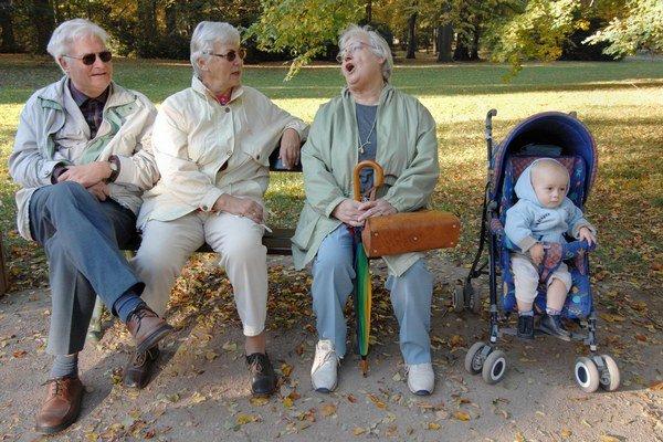 Ľudí v dôchodkovom veku bude pribúdať.