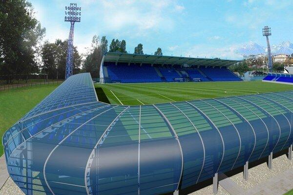 Takto navrhla firma Sedasport, že by malo vyzerať nové tréningové centrum v Poprade.