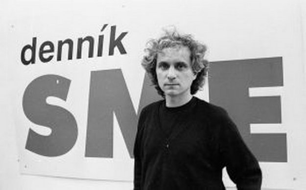Prvý šéfredaktor SME Karol Ježík.
